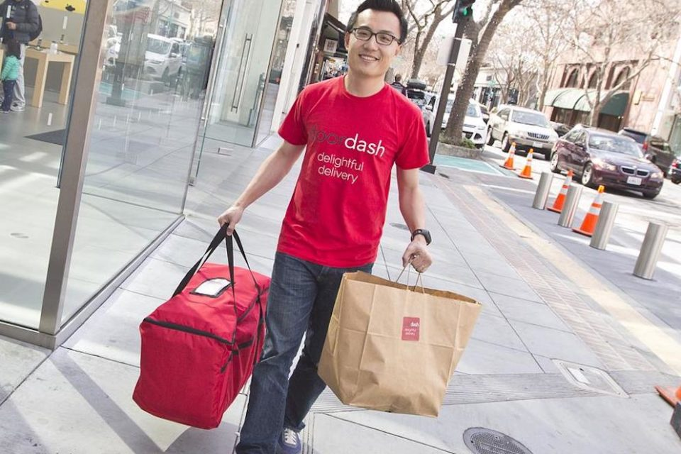 SoftBank leads $535 million investment in DoorDash delivery app