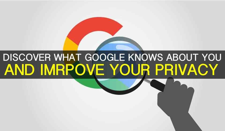 How to find out everything Google knows about you and download it all in one big file