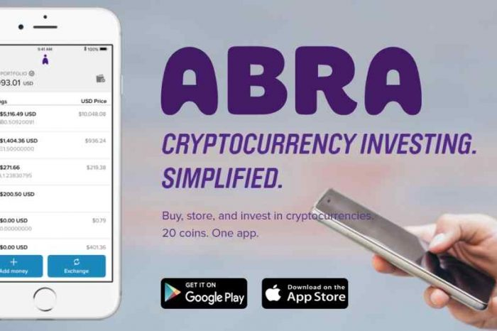 Meet Abra, the first and all-in-one app that allows anyone to buy, sell and hold across 20 cryptocurrencies