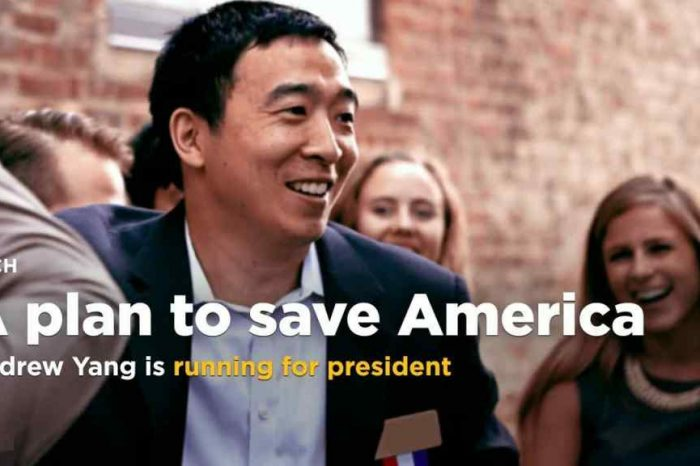 Venture For America founder Andrew Yang isrunning for president in 2020 and wants to give everyone $1,000 a month in free cash