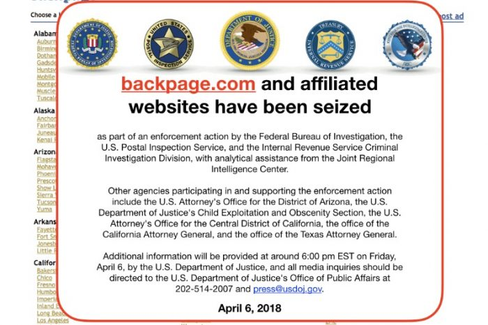 Backpage.com seized by US authorities, FBI raids founder's home