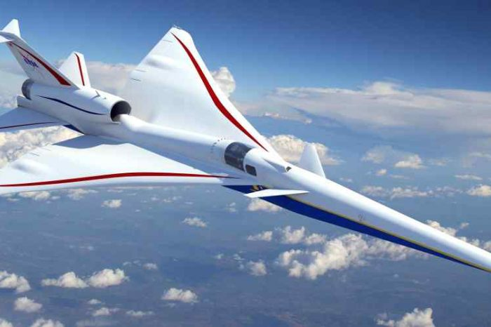 NASA awards $247.5 million contract to Lockheed Martin to build a supersonic aircraft without the traditional sonic boom