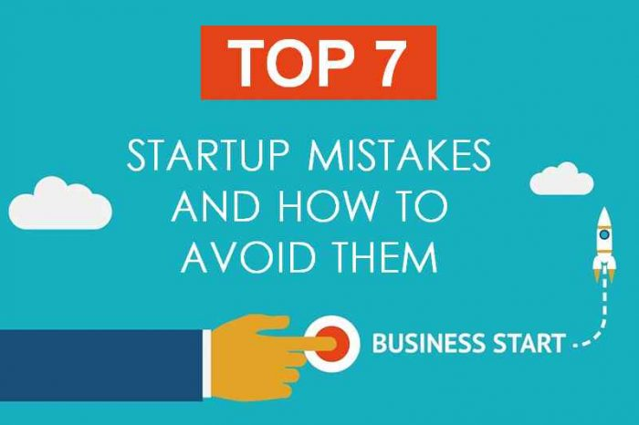 Top Biggest Startup Mistakes And How To Avoid Them [Infographic]