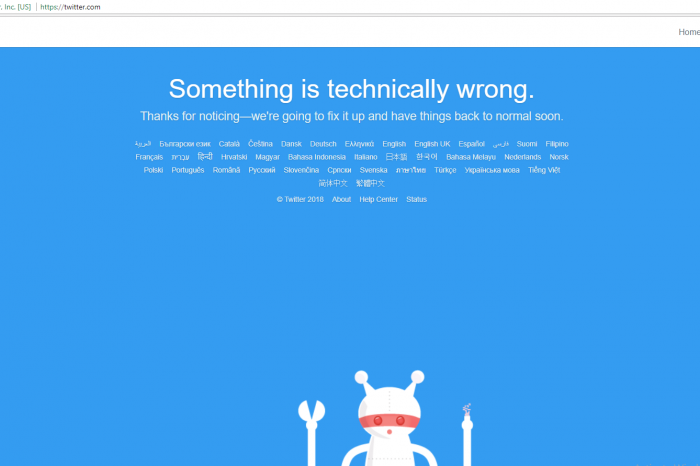 Twitter DOWN – Social network goes offline for users around the world - Twitter is back online [Update]