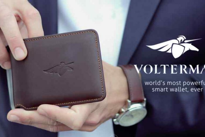 Meet Volterman, the world's most powerful smart wallet with built-in camera for catching thieves