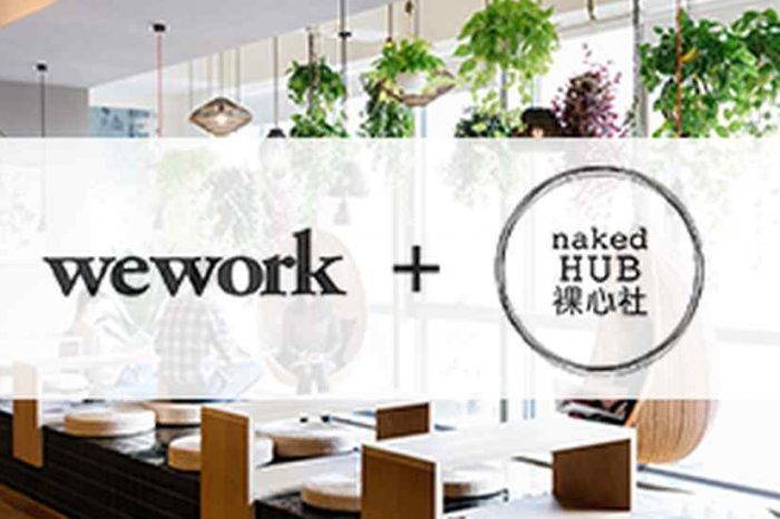 WeWork is buying China's  co-working startup Naked Hub for $400 million