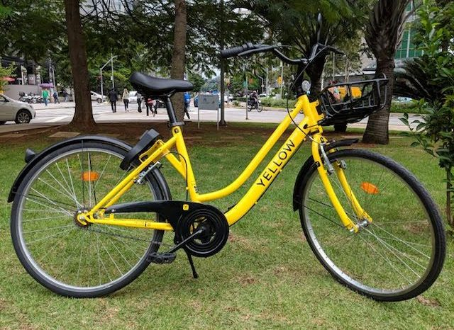 Brazilian bike-sharing service startup Yellow secures $9 million for the first dockless bike-sharing service in Brazil