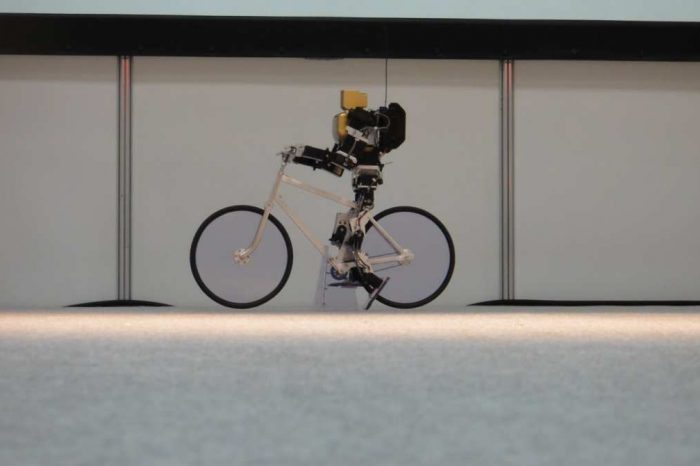 Forget Boston Dynamics's Mini Spot robot: These Japanese riding robots can cycle, balance, steer, and even correct themselves