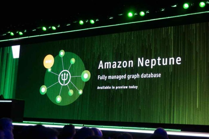 Amazon Neptune, an Amazon Web Services (AWS)' graph database, is now generally available