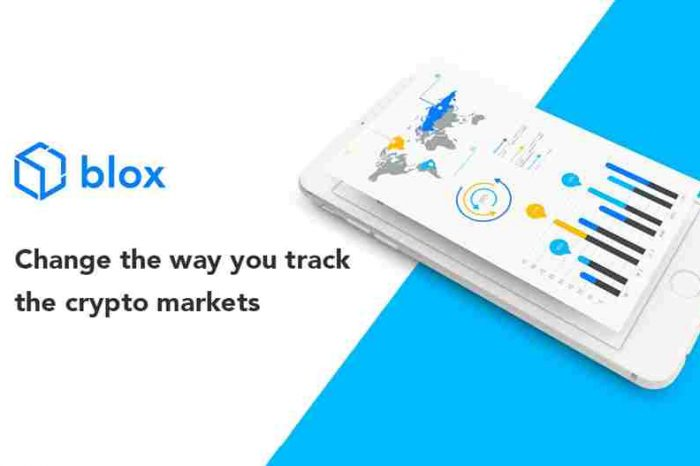 """Blockchain startup Blox.io launches """"Quickbooks for Crypto,"""" a tracking platform for crypto assets"""