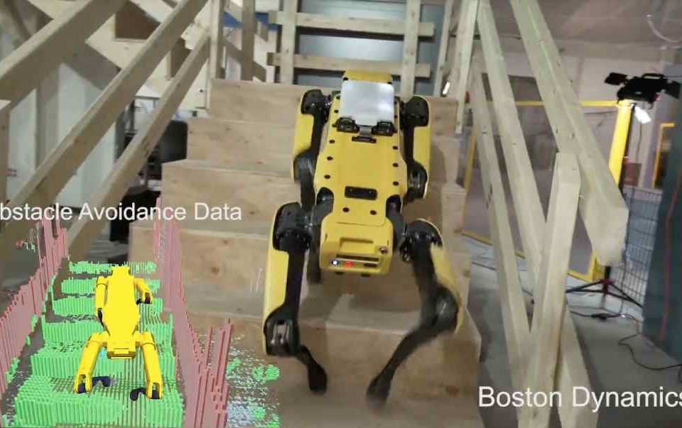 Boston Dynamics robots are learning to run outside, go up stairs