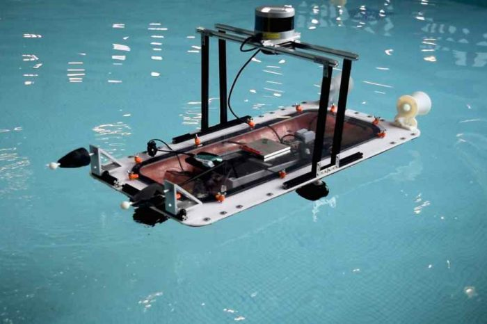 This MIT 3-D printed autonomous boat could help ease traffic in cities with waterways