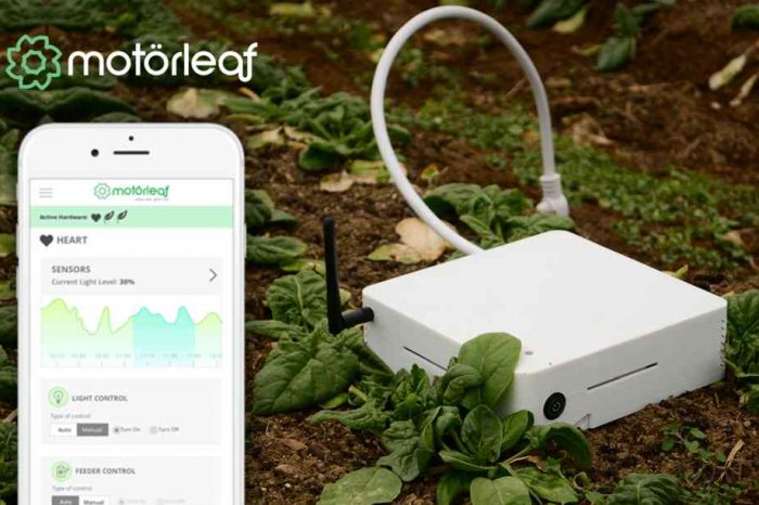 Artificial intelligence startup Motorleaf closes a $2.85 million seed round to accelerate AI in greenhouse operations