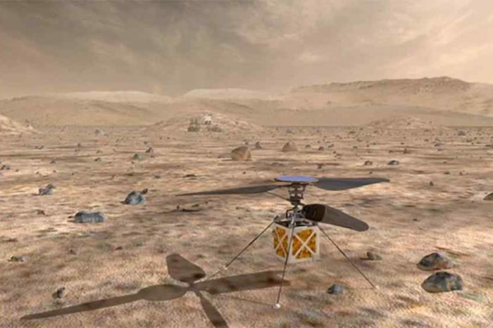 NASA is sending autonomous helicopter to Mars