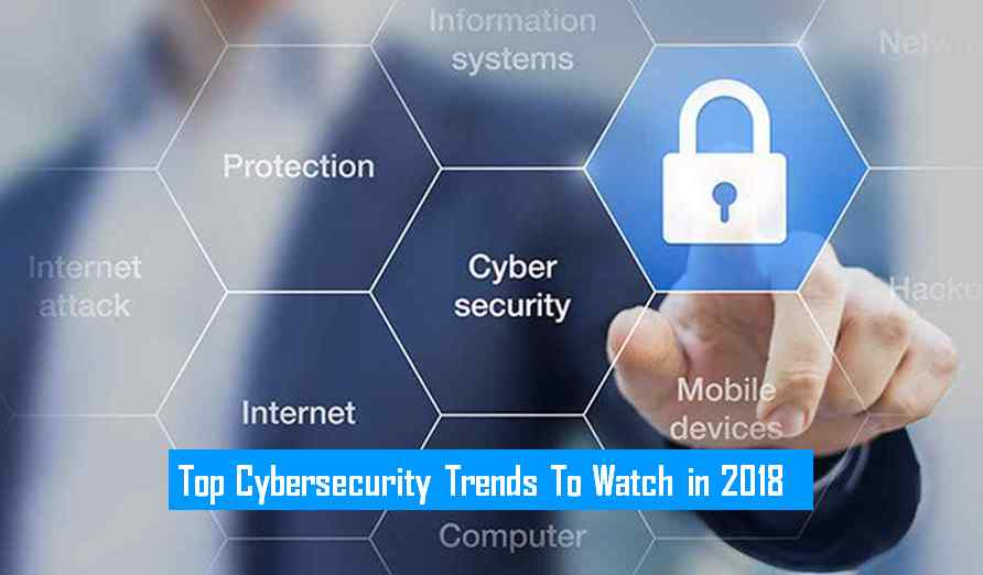 Top Cybersecurity Trends To Watch in 2018 [Infographic
