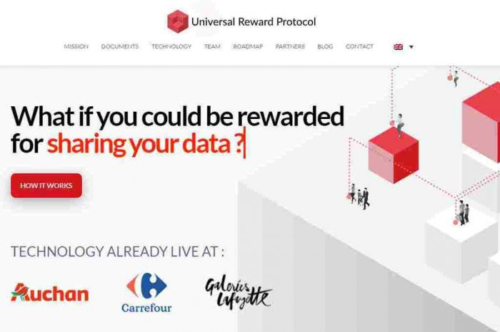 Universal Reward Protocol (URP) launches blockchain-based platform to reward shoppers and personalize shopper engagement