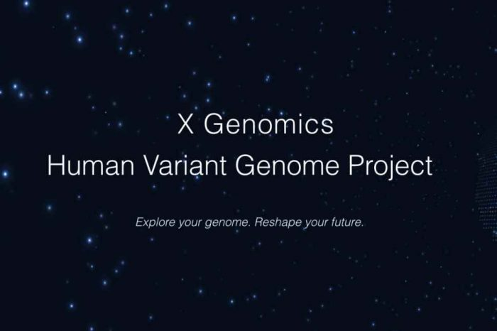 X Genomics, a startup supported by two Nobel prize winners, is putting human genetic data on the blockchain