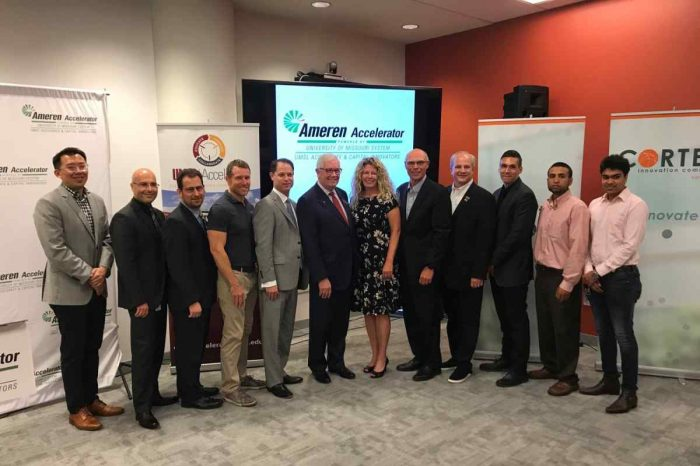 Ameren selectedsix startup companies from around the world to participate in its 2018 Ameren accelerator program