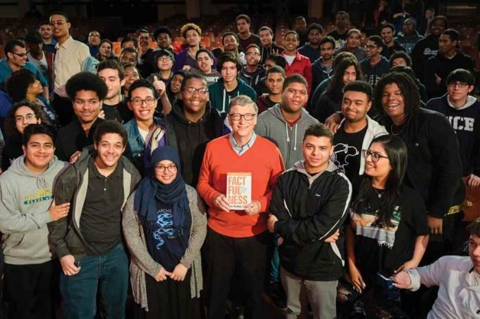 Bill Gates is giving away copies of his favorite book of the year, Factfulness, to all 2018 college graduates in the US