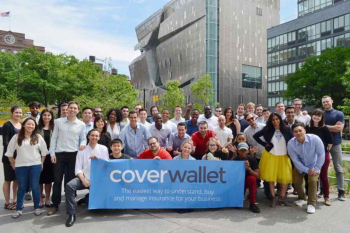 InsurTech startup CoverWallet launches commercial insurance platform exclusively for insurance agents