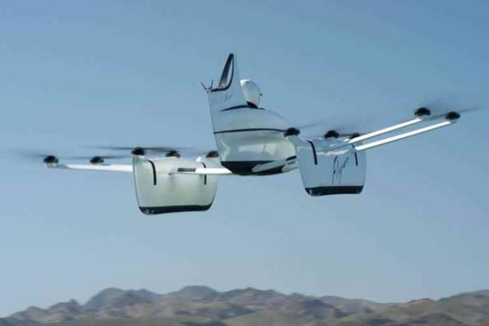 Flying car startup Kitty Hawk backed by Google's Larry Page, unveiled its first commercial vehicle, offers test flights