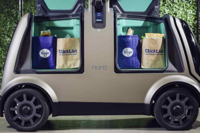 Self-driving car startup Nuro partners with Kroger for same-day grocery delivery