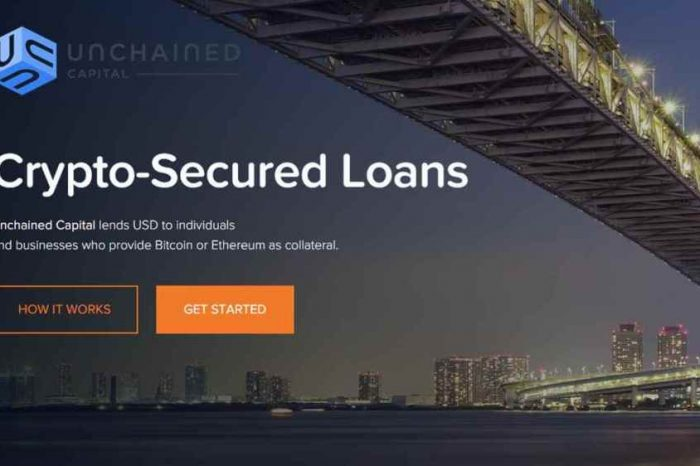 Crypto lending startup Unchained Capital raises about $3 million to grow its team and lend cash to long-term crypto-investors