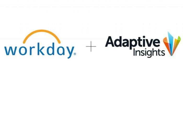 Workday acquires Adaptive Insights for $1.55 billion to accelerate business planning efforts
