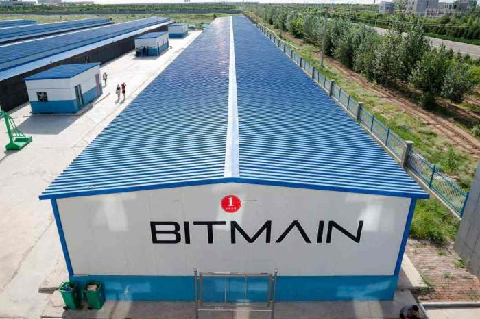 Bitcoin mining startup Bitmain reports a net profit of $1.1 billion in just 3 months (Q1 2018)