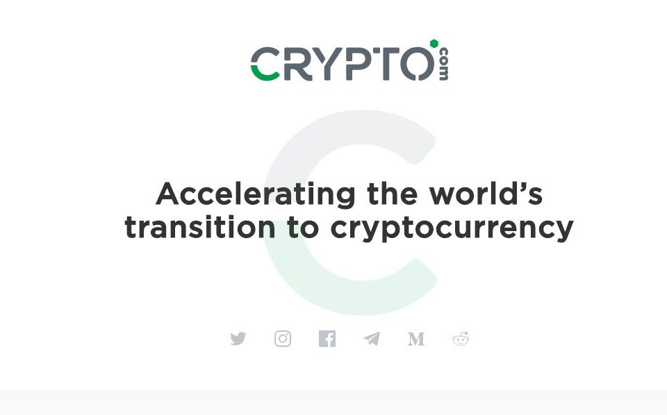 Highly-sought after domain name Crypto com sold for $12 million to