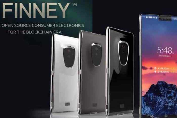 Sirin Labs unveiled the final design of the first ever $1,000 blockchain smartphone, Finney; due to hit markets this November