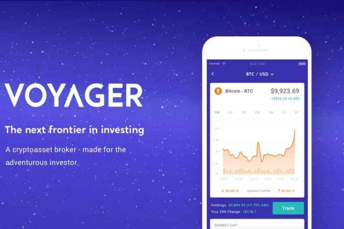 Voyager, a new multi-exchange crypto asset brokerage startup, to launch a commission-free mobile trading in fourth quarter
