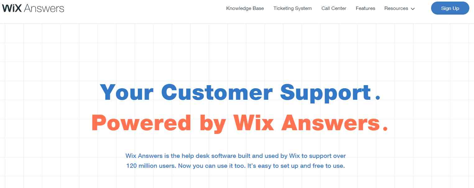 Wix Answers: The Best All-in-One Customer Support Solution