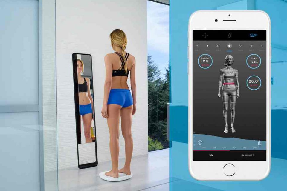 Naked Labs body-scanning mirror might be the smartest