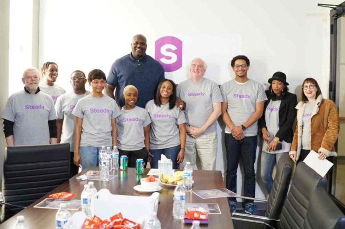Fintech startup Steady raises $9 million in Series A funding; Shaquille O'Neal joins the team