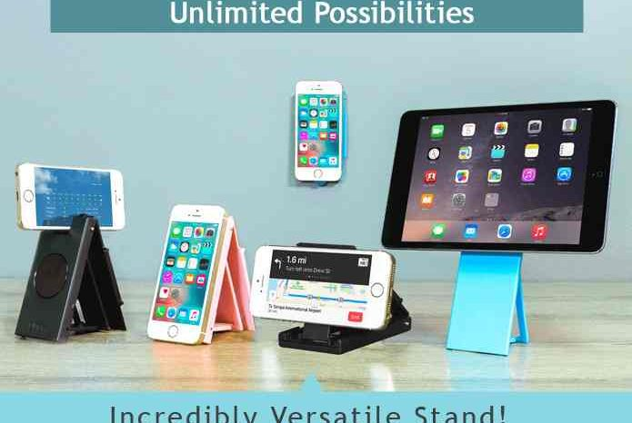 Uboh: The Most Versatile & Pocket Sized Phone Stand