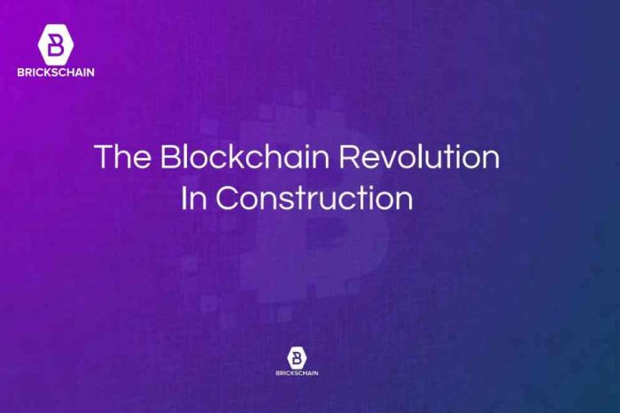 Blockchain startup Brickschain and Australia's Probuild join forces to bring construction blockchain across its supply chain