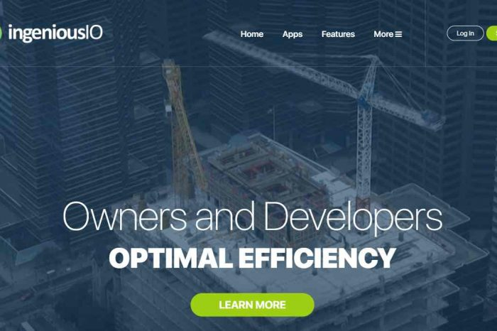 AI startup IngeniousIO launches with $4 million in funding to redefine construction industry collaboration