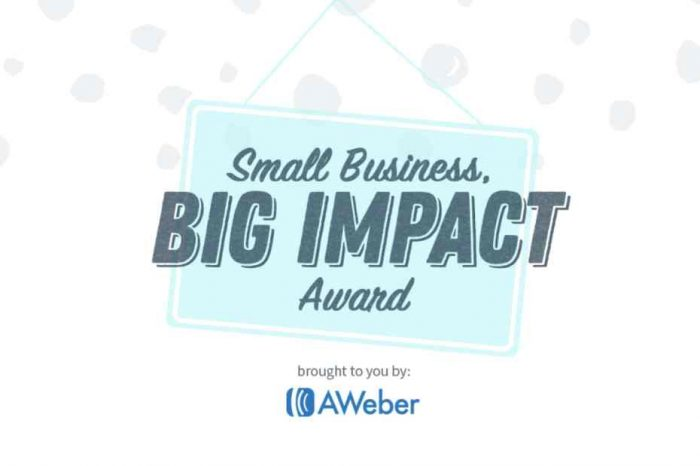 AWeber's $20K Small Business, Big Impact Award Contest Now Open to Small Businesses and Nonprofits