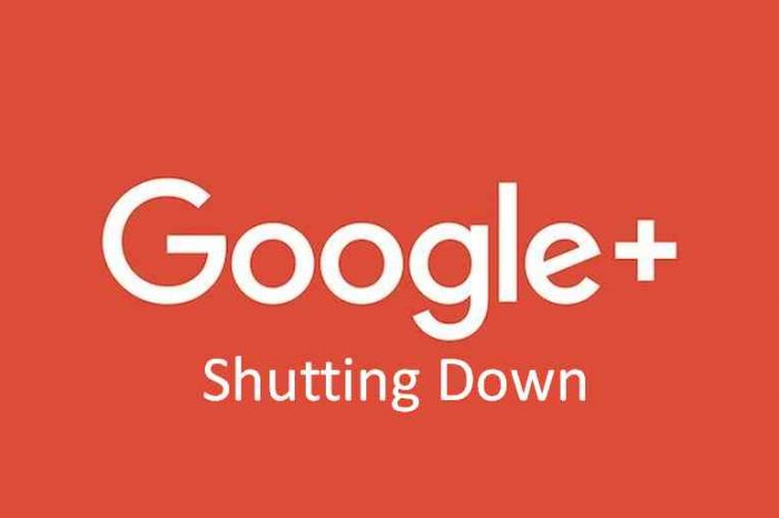 Google Plus is officially shutting down after security breach exposes up to 500,000 users' data