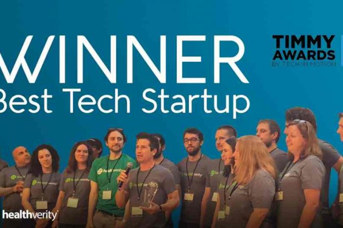 Healthtech startup HealthVerity named best tech startup in Philadelphia at Timmy Awards