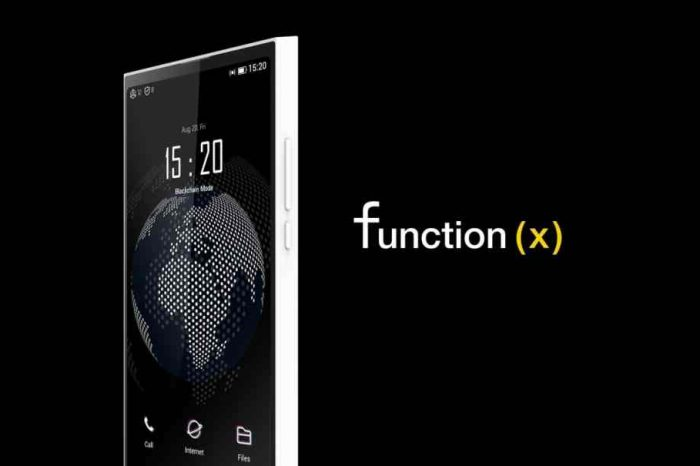 Pundi X unveils world's first blockchain-powered phone