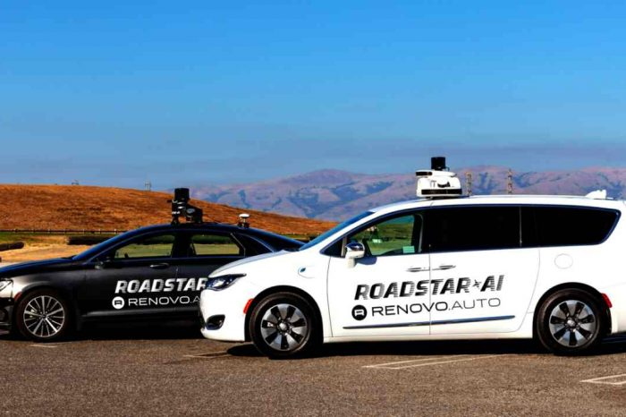 Autonomous driving startup Roadstar.ai selects Renovo AWare as OS for its development and commercialization platform