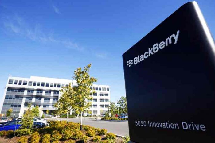 BlackBerry to buy cybersecurity Cylance startup for $1.4 billion in cash