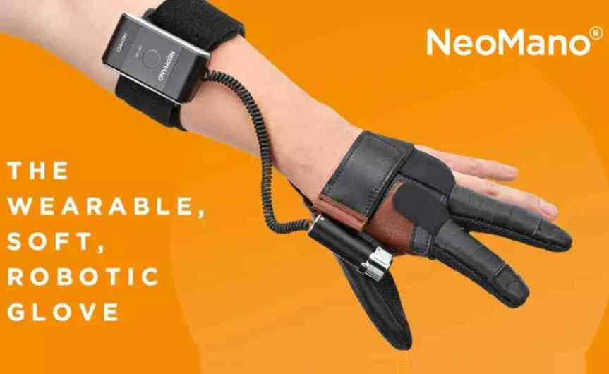 NEOFECT Launches NeoMano, a Robotic Glove That Helps People With Hand Paralysis Regain Independence