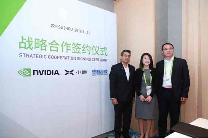 NVIDIA partners with China's new EV maker XPENG Motors to jointly develop Level 3 autonomous driving technology