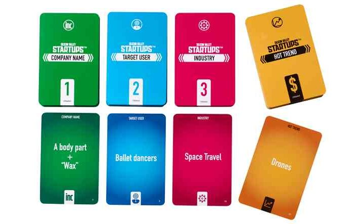 Toy manufacturing giant Mattel launches Silicon Valley Startups, a new card game to pitch hysterical startup ideas to investors