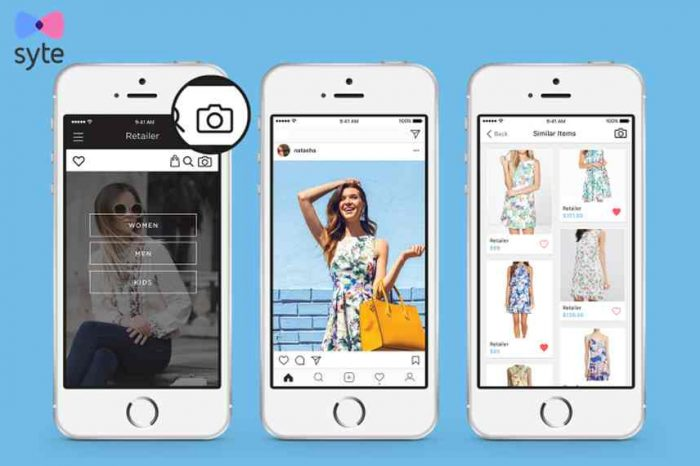 Visual AI startup Syte partners with  luxury fashion platform Farfetch to launch the new in-app visual search feature on iOS.