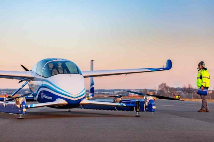 Boeing's flying taxi lifts off in a first successful test flight, bringing Uber Air closer to reality
