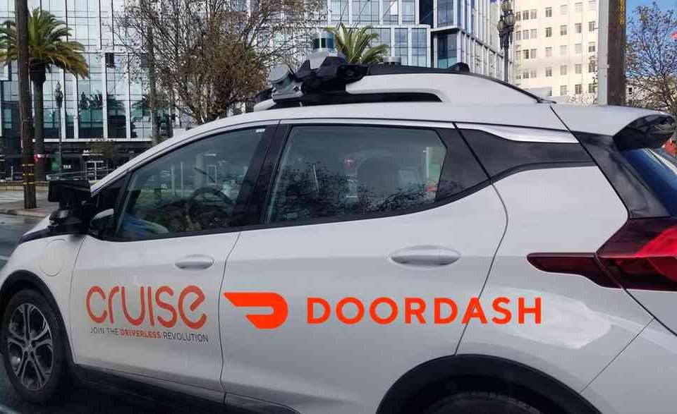GM's Cruise partners with DoorDash to test autonomous food